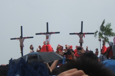 Crucifixion in Cutud